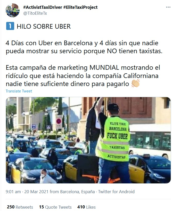 This image has an empty alt attribute; its file name is Tweet-Barcelona-Blockade.jpg