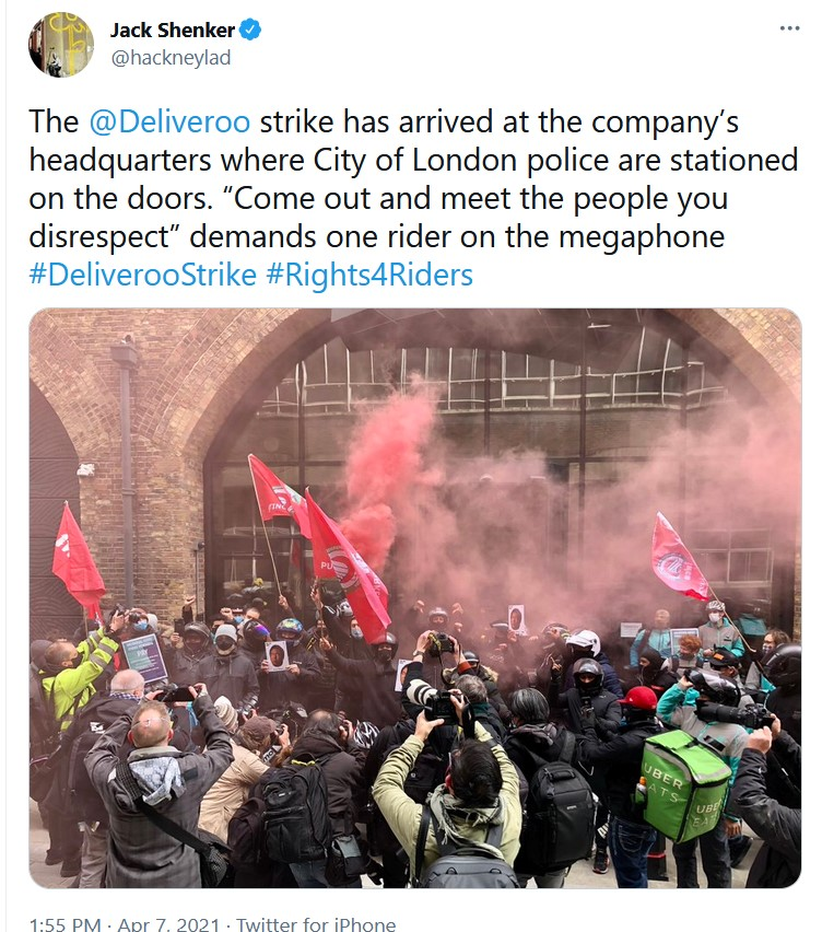 This image has an empty alt attribute; its file name is Deliveroo-Strike-2.jpg