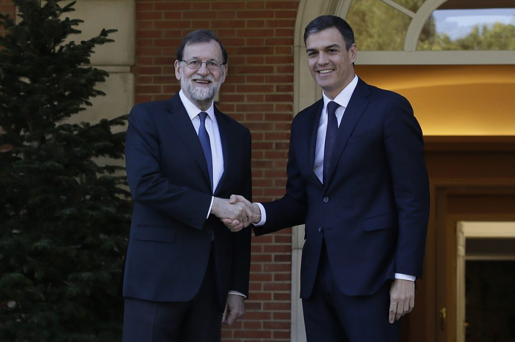 This image has an empty alt attribute; its file name is Sanchez-Rajoy-1-1024x681.jpg